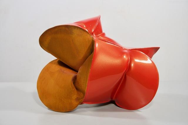 , 'Saturn Orange,' 2018, Galerie Richard
