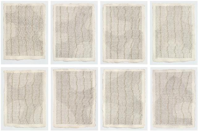 Greta Schödl, 'Untitled (Zeichen auf Papier - Signs on Paper)', 1995, Richard Saltoun