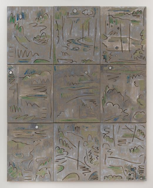 , 'Overcast,' 2017, Nicelle Beauchene Gallery