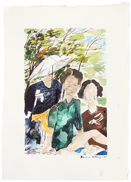 , 'Three Women,' 2018, Galerie Anhava
