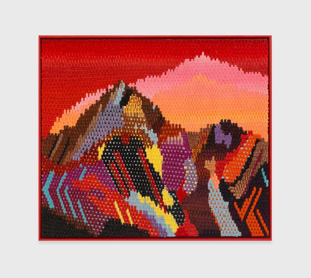 , 'Ruby Mountain,' 2016, The Hole