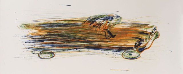 , 'Fast Car,' 1962, Sims Reed Gallery