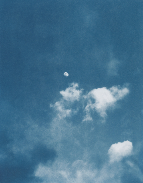 Sean McFarland, 'Day Moon', 2018, Photography, Cyanotype, Casemore Kirkeby