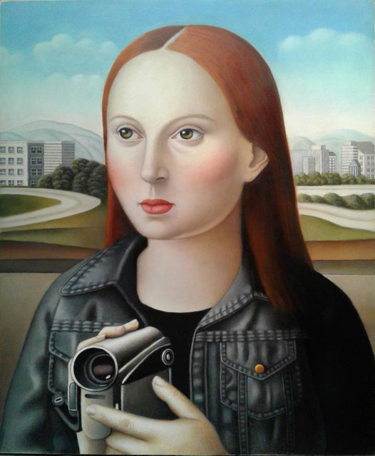 , 'Woman with Video Camera,' , Front Room Gallery