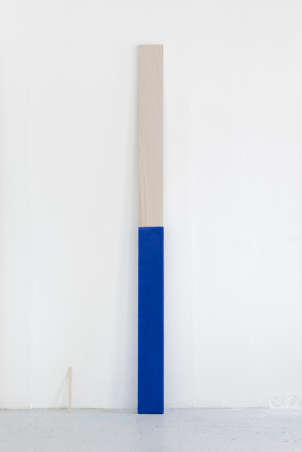 , 'Paint Stir Stick (Blue),' 2018, Galleri Franz Pedersen