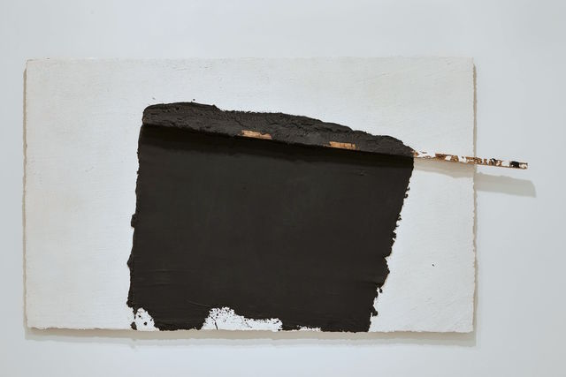 , ' White with traces of black and wood ,' 1989-1990, Michel Soskine Inc.