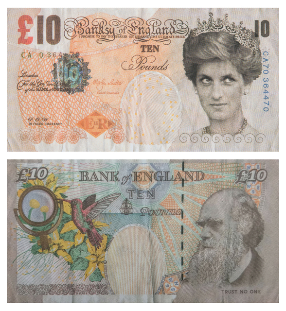 Banksy, 'Di-faced Tenner', 2004, RAW Editions: The Edit IV