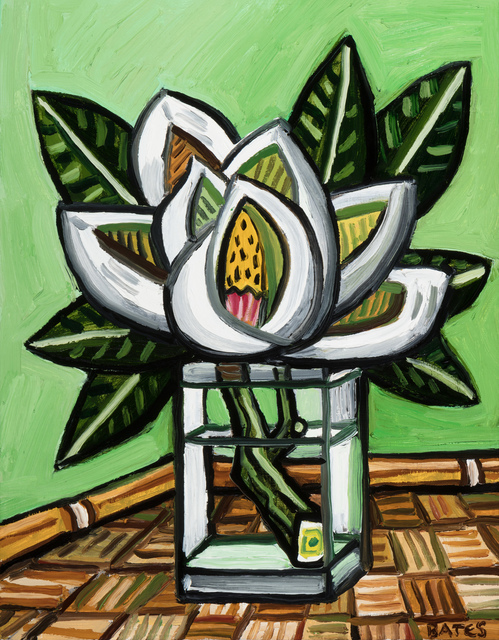 , 'Magnolia in a Vase,' 2016, Arthur Roger Gallery
