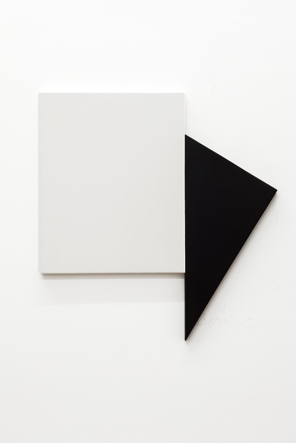 , 'Positions of a Triangle in Relation to a Rectangle III,' 2014, Cosmocosa