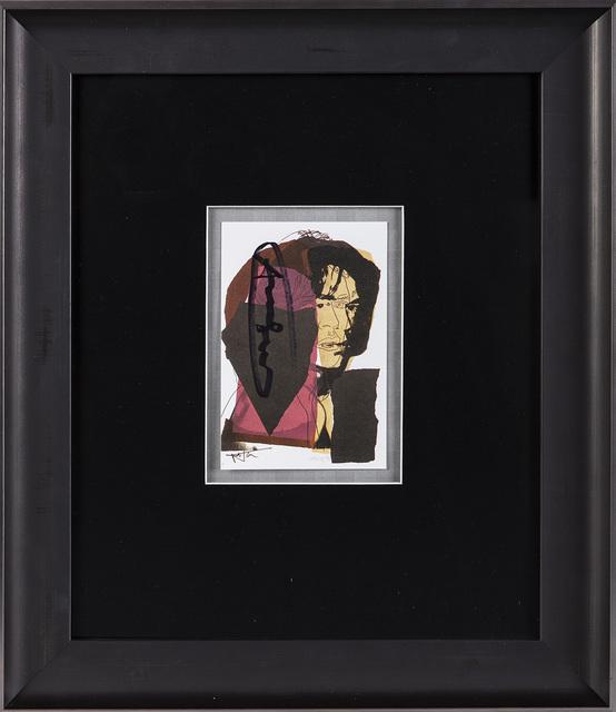 Andy Warhol, 'Mick Jagger FS.II.139 Gallery Invitation Announcement', 1975, Modern Artifact