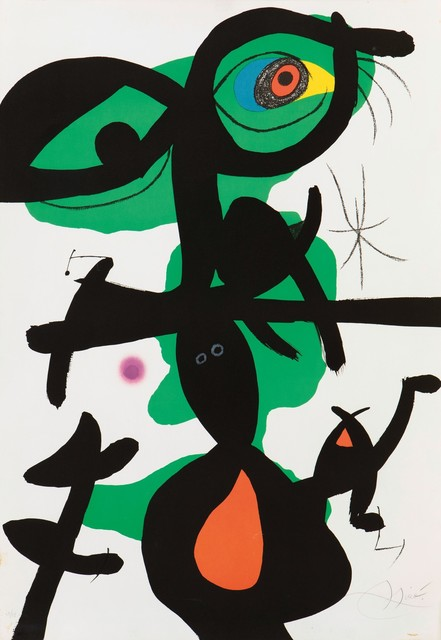 Joan Miró, 'Oda à Jean Mirò', 1973, Cambi