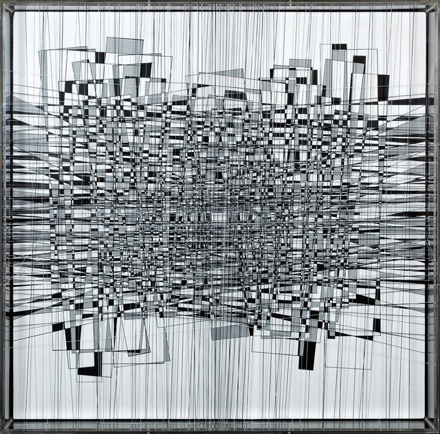 , 'Rainy squares entanglement,' 2016, Matthew Liu Fine Arts