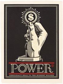 Shepard Fairey, 'Power Bidder', 2015, Vertu Fine Art