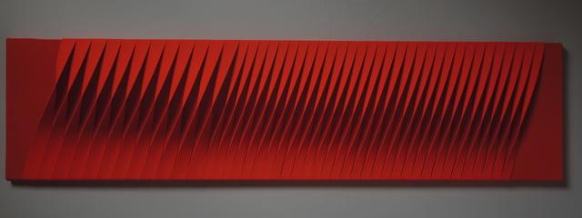 , 'Sincronicità armonica ritmica rossa,' 2017, Opera Gallery