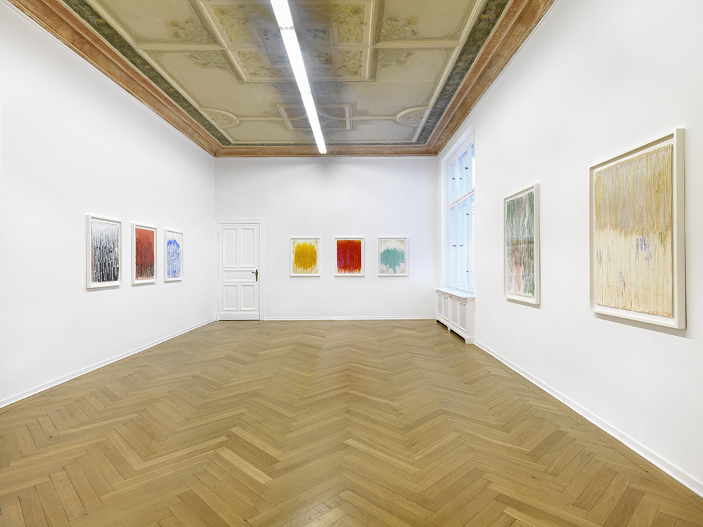 "Installation view. Christopher Le Brun ""Now Turn the Page"", A3, Berlin, Germany. April 28 - May 26, 2017. Photo: Christopher Le Brun"