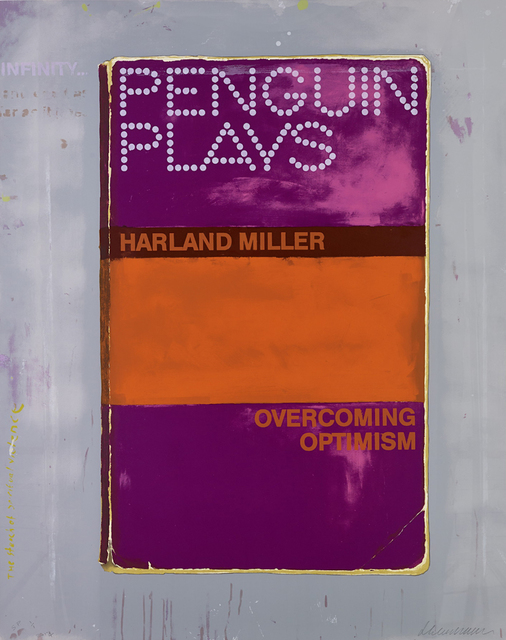 Harland Miller, 'Overcoming Optimism', 2014, IKON Ltd. Contemporary Art