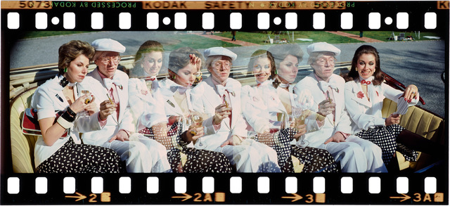 , 'Andy Warhol as the Great Gatsby, with Sharon Hammond and Maureen McCluskey,' 1974, Ever Gold [Projects]