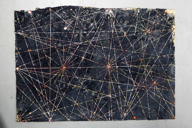 , 'Untitled (mauri, mapuche, machu),' 2015, 80M2 Livia Benavides