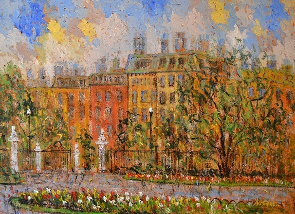 , 'View on Commonwealth Avenue from Boston Park,' 2015, Galerie d'Orsay