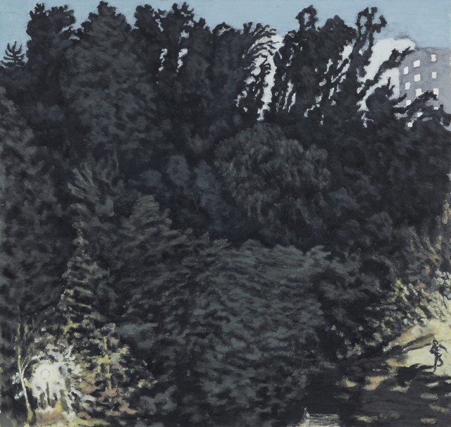, 'Forest, Night,' 2013, Donghwa Ode Gallery