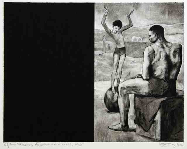 , 'Untitled (After Picasso, Acrobat on a Ball, 1905),' 2016, Cahiers d'Art