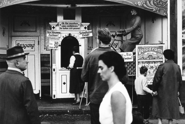 , 'Velodrome at the Oktoberfest. Munich, Germany.,' 1956, Magnum Photos