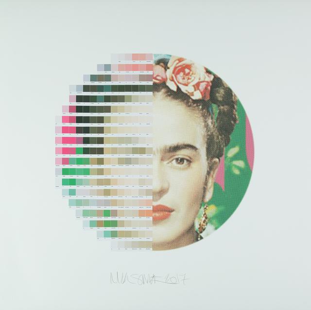 , 'Frida Kahlo, Tondo 1,' 2017, Lawrence Alkin Gallery