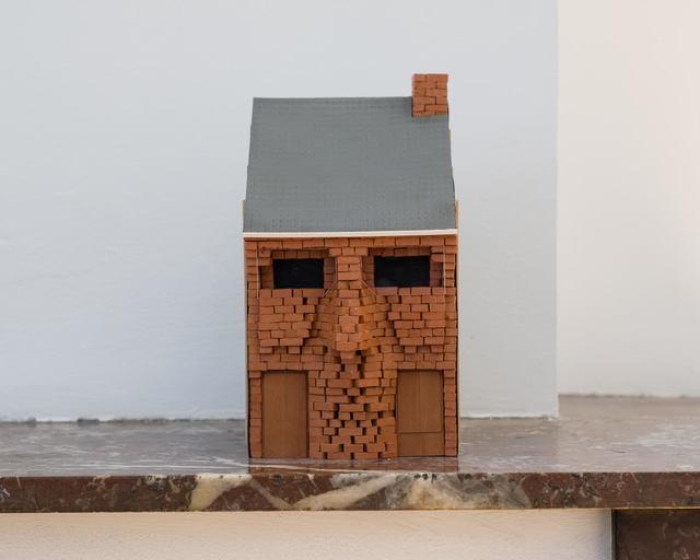 , 'Autoportrait en maison mitoyenne,' 2016, mariondecannière