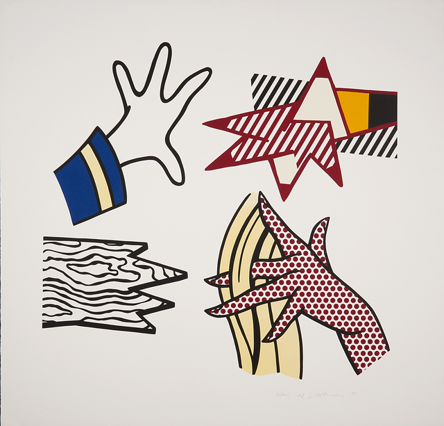 Roy Lichtenstein, 'Study of Hands', 1981, Rago