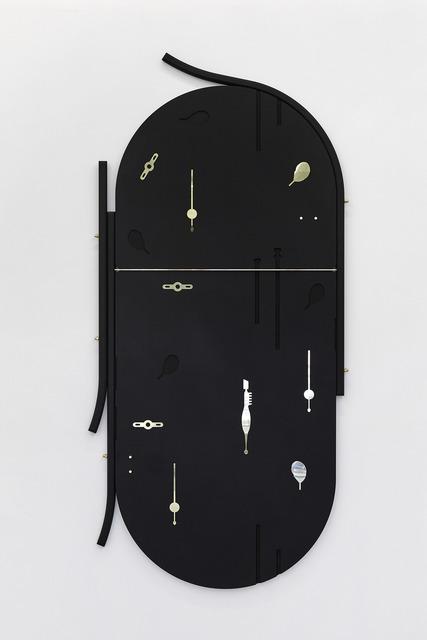Claire Baily, 'Onglette', 2018, Sculpture, Valchromat & brass, CASTOR