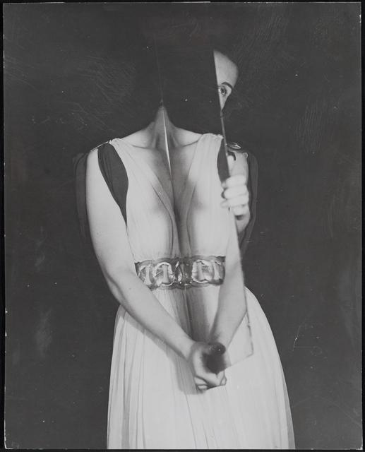 , 'Woman Holding Mirror,' ca. 1938, Osborne Samuel