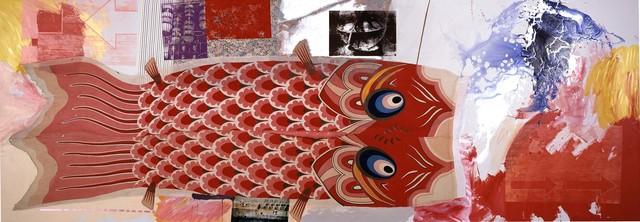 Robert Rauschenberg, 'Fish Park / ROCI JAPAN', 1984, Robert Rauschenberg Foundation