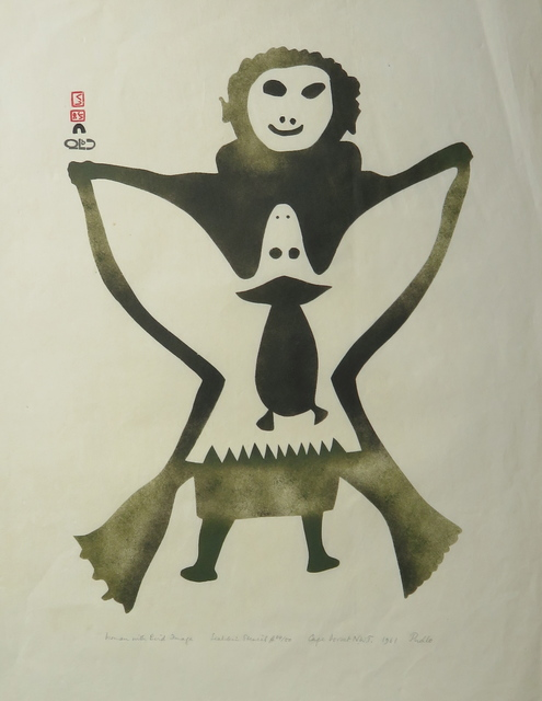 , 'Woman with Bird Image,' 1961, Arctic Experience McNaught Gallery