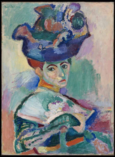 Henri Matisse, 'Femme au chapeau (Woman with a Hat)', 1905, San Francisco Museum of Modern Art (SFMOMA)