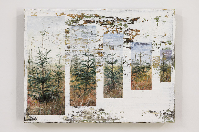 , 'Trees in a row,' 2019, Galerie Bart