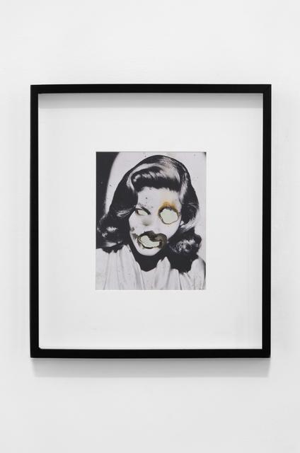 Douglas Gordon, 'Self Portrait of You + Me (Lauren Bacall)', 2006, kamel mennour