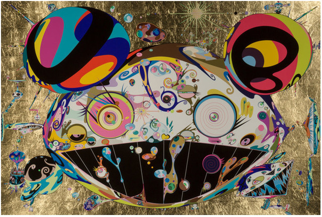 Takashi Murakami, 'Tan Tan Bo', 2004, Print, Silkscreen with gold leaf, Lougher Contemporary Gallery Auction