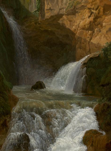 Jean Joseph Xavier Bidauld, 'View of the Waterfalls at Tivoli', 1788, National Gallery of Art, Washington, D.C.
