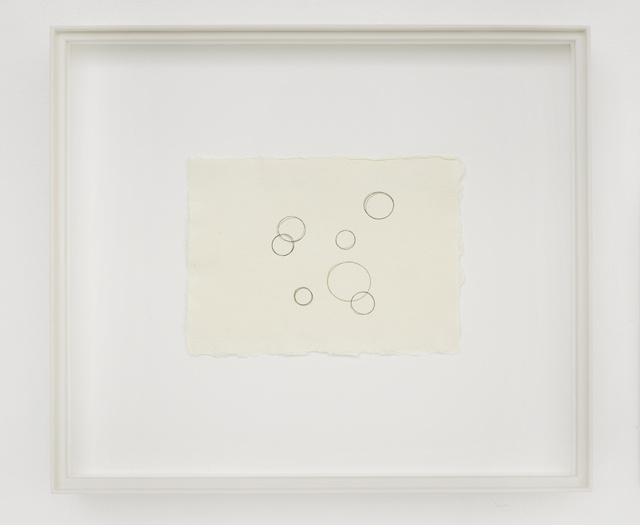 , 'Composition with Circles I,' 2018, White Cube