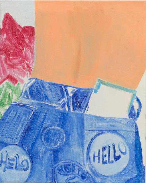 Nathalie Shepherd, 'Hello', 2019, Galerie Lisa Kandlhofer