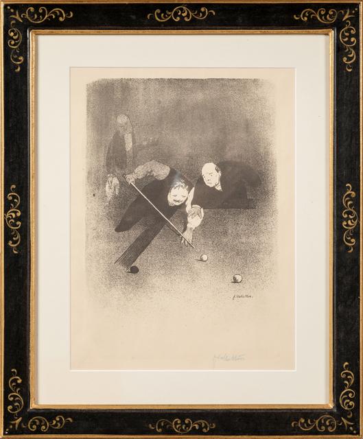 Félix Vallotton, 'Les Raseurs', 1893, Print, Original lithograph on wove paper, Samhart Gallery