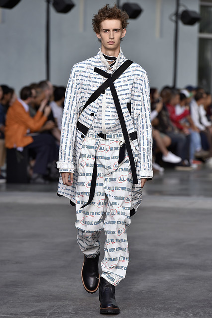 Sacai, 'All In Print Coat', 2018, Fashion Design and Wearable Art, 100% Cotton, Free Arts NYC Benefit Auction