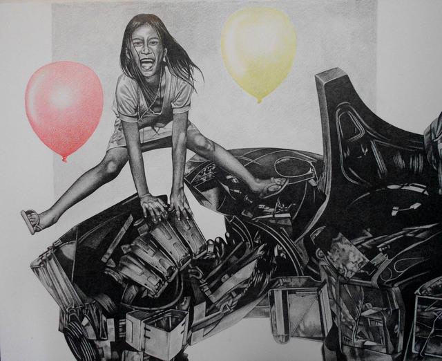 , 'Happy Jump,' 2017, Artemis Art