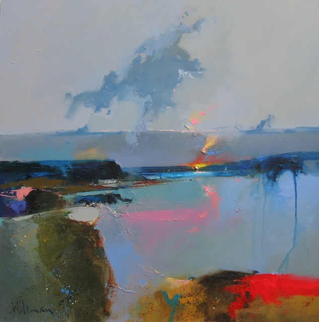 Peter Wileman, 'Fireglow', Painting, Oil on canvas, Thompson's Galleries