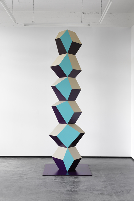 , 'Heavy Metal Stack of Six: Turq Totem,' 2017, Simon Lee Gallery