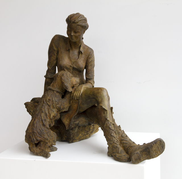 Eléonore de Moffarts, 'Huntress', 2018, Sculpture, Bronze, Art Center Horus