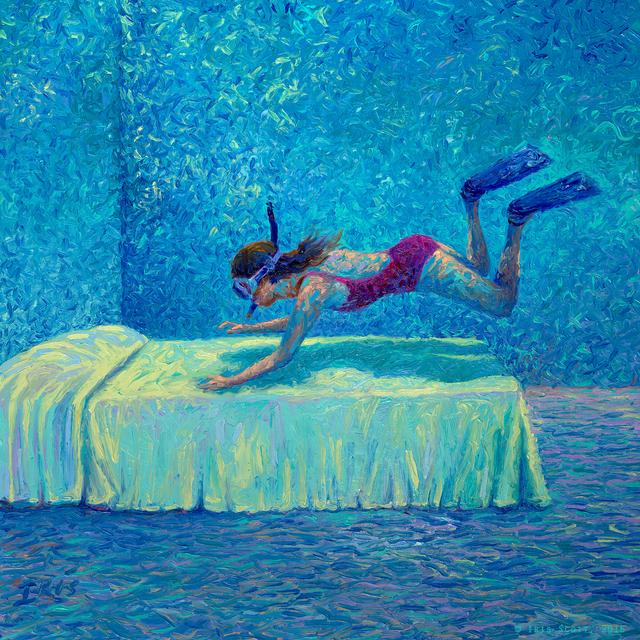 , 'The Diver,' 2016, Adelman Fine Art