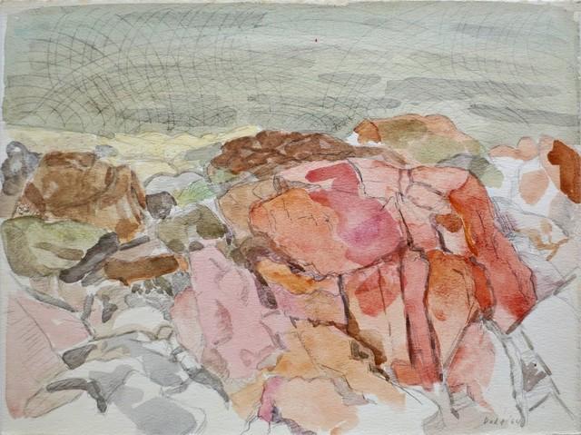 , '(Pink Rocks) Coastal Rocl,' 1964, Gallery Neptune & Brown