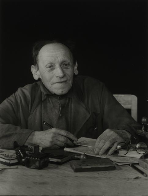 August Sander, 'Amateur Advocate, 1952', Galerie Julian Sander