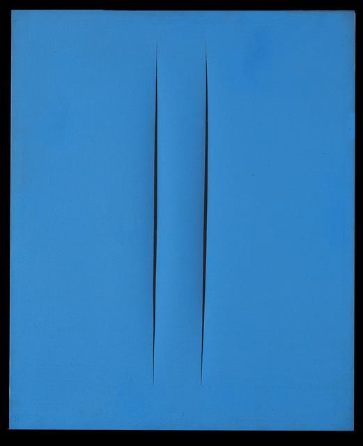 , 'Concetto spaziale, attese,' 1965, Partners & Mucciaccia